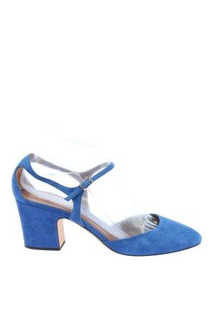 Emporio Armani Escarpins à lanière bleu style décontracté
