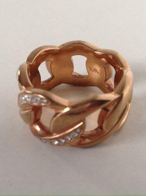 EMPORIO ARMANI Ring Gr. 60 Kupfer Modeschmuck