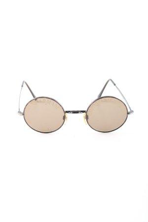 Emporio Armani Round Sunglasses brown-black casual look