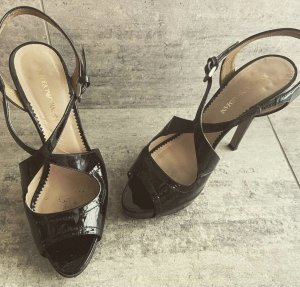 Emporio Armani sandalette 39 Lackleder