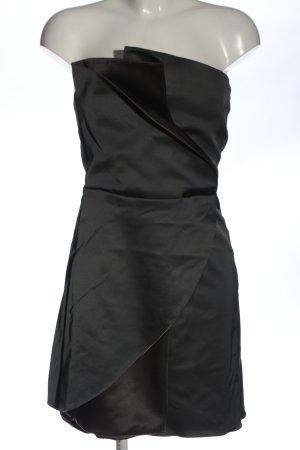 Emporio Armani schulterfreies Kleid schwarz Elegant