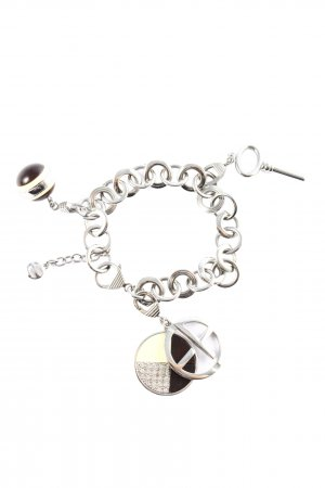 Emporio Armani Silver Bracelet silver-colored casual look
