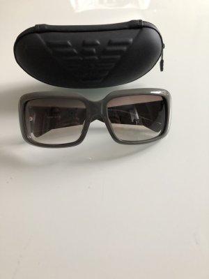 Emporio Armani Occhiale da sole spigoloso grigio