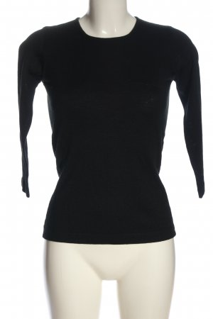 Emporio Armani Knitted Sweater black casual look
