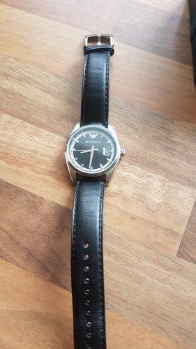 Emporio Armani Analoog horloge zwart-zilver