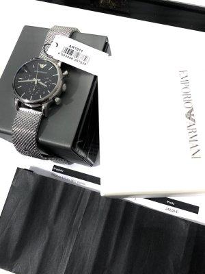 Emporio Armani Zegarek z metalowym paskiem Wielokolorowy