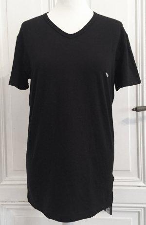 Emporio Armani T-Shirt black-white cotton