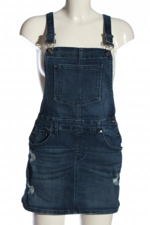 EMPYRE Pinafore Overall Skirt blue casual look