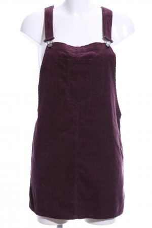 Pinafore Overall Skirt lilac casual look