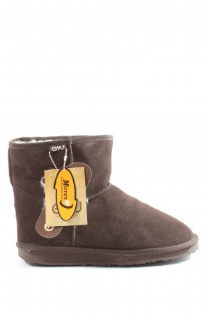 Emu Ankle Boots braun Casual-Look