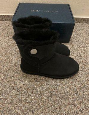 EMU Australia Leder Boots schwarz in Gr. 38 *NEU/OVP*