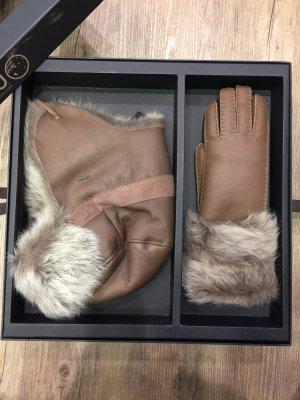 Emu Bonnet cache-oreilles beige