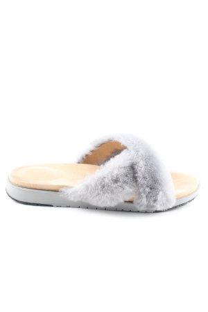 Emu Comfort Sandals light grey casual look