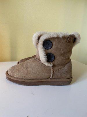 Emu Lammfell Booties Gr 38