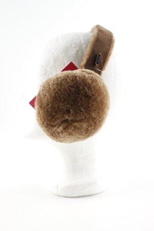 Emu Nauszniki brązowy W stylu casual
