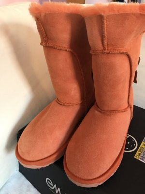Emu orange Boots Stiefel Fell