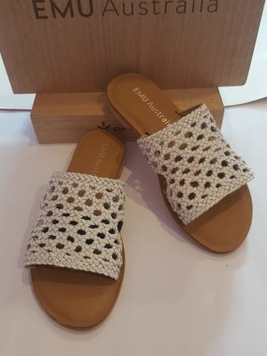 Emu Dianette Sandals white leather