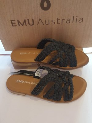 Emu Dianette Sandals black textile fiber