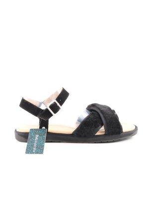 Emu Riemchen-Sandaletten schwarz Casual-Look