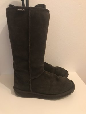 EMU Stiefel Echtfell Boots Gr 38 Braun