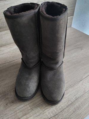 Emu Snow Boots dark brown