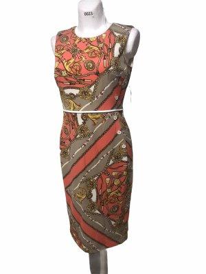 En Focus Damen Kleid Apricot Pencil S/M 38