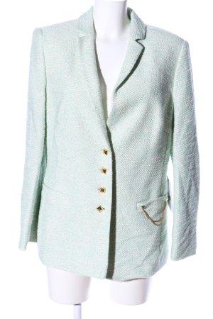 EN VOGUE by Sarah Kern Wool Blazer turquoise business style