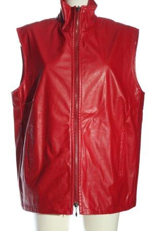 encadée Biker vest rood casual uitstraling