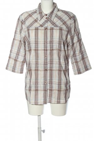encadée Lumberjack Shirt natural white-brown check pattern casual look