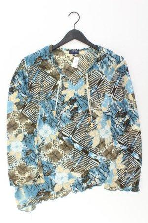 encadée Shirt mit V-Ausschnitt Größe 46 Langarm mehrfarbig aus Polyester