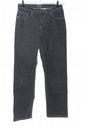 Straight-Leg Jeans hellgrau meliert Casual-Look