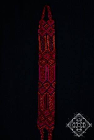 Endless Knots Handmade Fabrics Bracelet Armband handgewebt