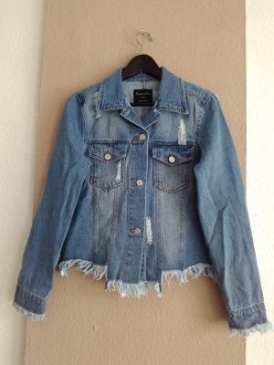 Endless Love hübsche Jeansjacke mit Rissen, Grösse S