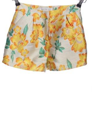 endless rose High-Waist-Shorts flower pattern casual look