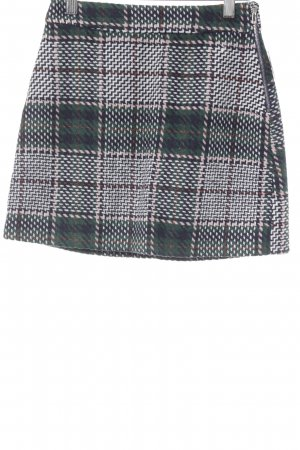 endless rose Miniskirt check pattern casual look