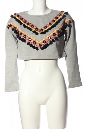 endless rose Sweat Shirt flecked casual look
