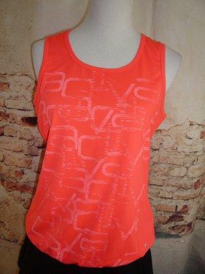 Energetics Sport Top signalfarben orange / koralle Gr 40 wie neu