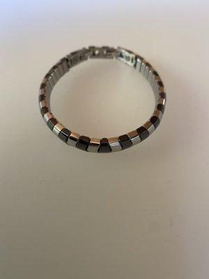 Energetix Armband Magnetschmuck Silber Schwarz