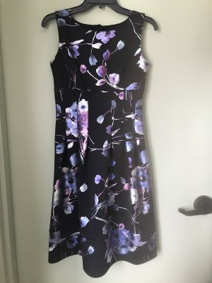 Enfocus Studios Damen Kleid Glanz Blumen S