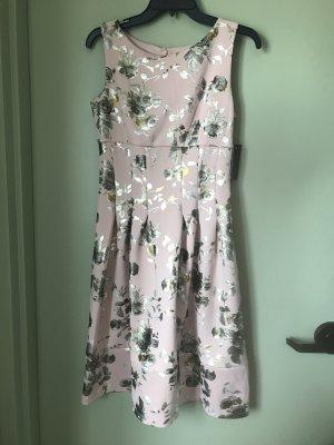 Enfocus Studios edles Damen Sommer Kleid Glanz Blumen 36