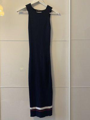 Mango Ołówkowa sukienka ciemnoniebieski