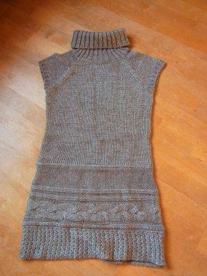 Promod Vestido tejido gris