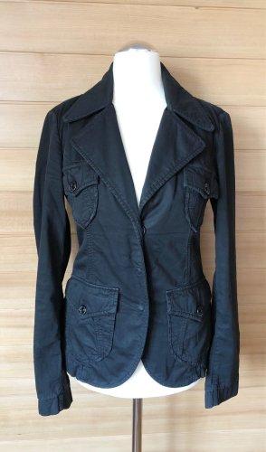 Nolita de Nimes Blazer en jean noir coton