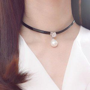 Enganliegende Halskette