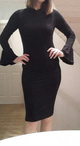 Even & Odd Midi Dress black spandex