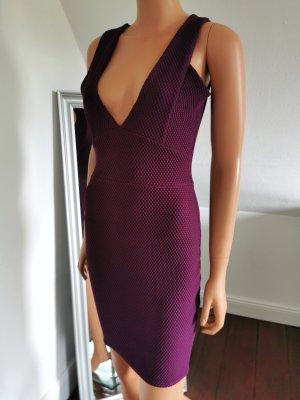 Boohoo Robe courte violet