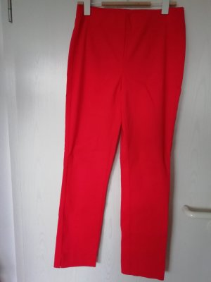 Breeches red mixture fibre