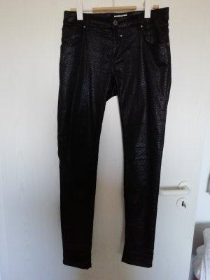 Coccara Pantalone cinque tasche nero Cotone
