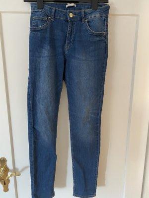 H&M Stretch Trousers steel blue