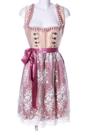 Engel Dirndl Vestido Dirndl estampado floral estilo clásico